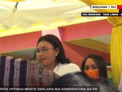 ARMANDA BERTA DEKLARA OFFISIALMENTE NIA KANDIDATURA BA PR