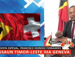 INTERVISTA ESPESIAL HO FRANCISCO DIONISIO FERNANDES I MISSAUN TIMOR-LESTE IHA GENEVA