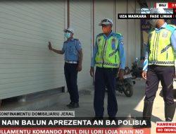 Viola Regras Konfinamentu Domisiliariu Jeral, Loja Nain ho Offisina Nain Aprezenta An ba Polisia